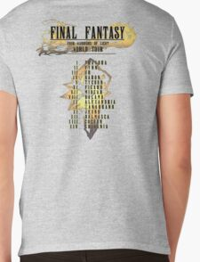 Final Fantasy   Band Tour Style Mens V-Neck T-Shirt
