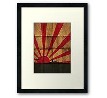 IJN Paper Framed Print
