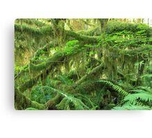 Jurassic Jungle Canvas Print