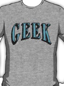 GEEK in Blue T-Shirt