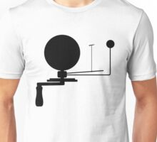 Handcrank Earth (Black) Unisex T-Shirt