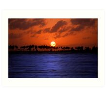 """Splendid Sunset"" - sunset in San Juan, Puerto Rico Art Print"