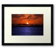 """""""Splendid Sunset"""" - sunset in San Juan, Puerto Rico Framed Print"""