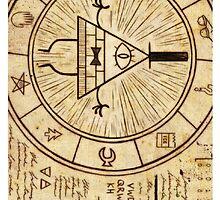 Bill Cipher Wheel by SentientGelatin