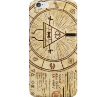 Bill Cipher Wheel iPhone Case/Skin