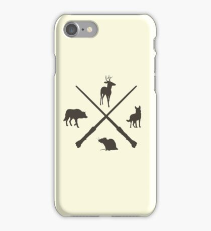 Hipster Marauders  iPhone Case/Skin