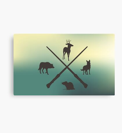 Hipster Marauders  Canvas Print