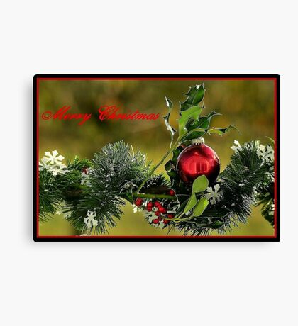 FEATURED..!MERRY CHRISTMAS click on  Christmas Video Canvas Print