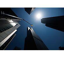 scyscrapers, Chicago loop, architecture Photographic Print