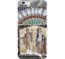 Mosaic at Heculaneum, near Naples, Italy iPhone Case/Skin