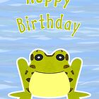 Hoppy Birthday Card by Nikki Smith