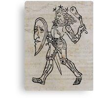 Hic Codex Auienii Continent Epigrama Astronomy Rufius Festivus Avenius 1488 Astronomy Illustrations 0159 Constellations Canvas Print