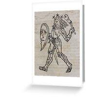 Hic Codex Auienii Continent Epigrama Astronomy Rufius Festivus Avenius 1488 Astronomy Illustrations 0159 Constellations Greeting Card