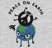 Peace On Earth Kids Tee