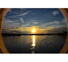 Susquehanna Summer Sunset II Photographic Print