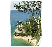 Miner's Castle at Pictured Rock Poster