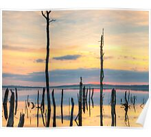 Dream Sunrise on Manasquan Lake Poster