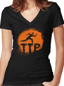 Todo Terreno Paraguay Women's Fitted V-Neck T-Shirt
