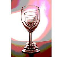 The Wineglasses 1 Photographic Print