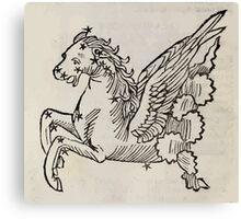 Hic Codex Auienii Continent Epigrama Astronomy Rufius Festivus Avenius 1488 Astronomy Illustrations 0152 Constellations Canvas Print