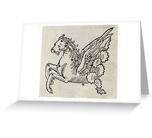 Hic Codex Auienii Continent Epigrama Astronomy Rufius Festivus Avenius 1488 Astronomy Illustrations 0152 Constellations Greeting Card