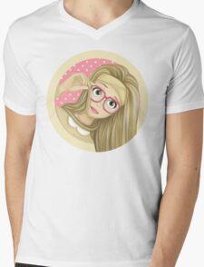 Honey Lemon Mens V-Neck T-Shirt