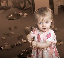 Anna with Toys by Samantha Van Stralendorff