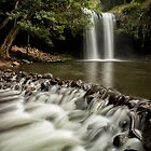 The Wall at Killen Falls by Kristin Repsher