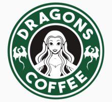 Drangons Coffee Kids Clothes