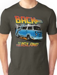 Back to the Island Lost And Back to the Future Spoof Unisex T-Shirt