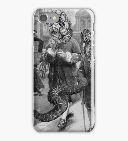 The Snake Dealers. iPhone Case/Skin