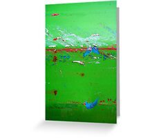 The Green, Green Grass of Home Greeting Card