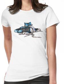 Blue Chucks Womens Fitted T-Shirt