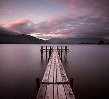 Lake Te Anau by Andrew Bradsworth