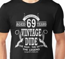 Vintage Dud Aged 69 Years Unisex T-Shirt