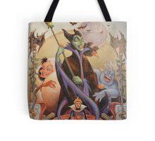 Disney Villians Evil Queen Ursula Maleficent Cruella Magic Mirror Tote Bag