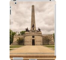 Abraham Lincoln Tomb iPad Case/Skin