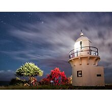 Lighting Up Fingal Head Photographic Print