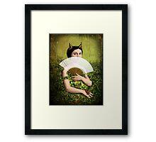 Her secret Framed Print