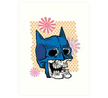 Batman Death Cowl Art Print