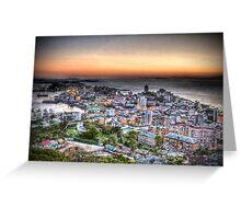 Vladivostok City at Sunset Greeting Card