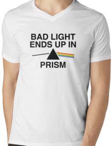 Bad Light Ends Up In Prism Mens V-Neck T-Shirt