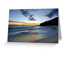 Sorrento Sunset Greeting Card