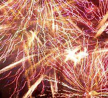 Celebrating Fourth of July with Fireworks by heyginny
