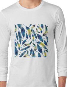 Falling Feathers Long Sleeve T-Shirt