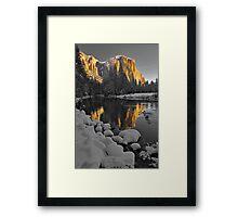 El Capitan Monochrome Framed Print