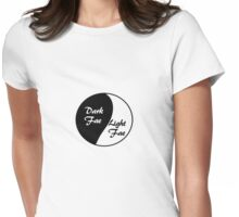 Dark Fae / Light Fae Womens Fitted T-Shirt