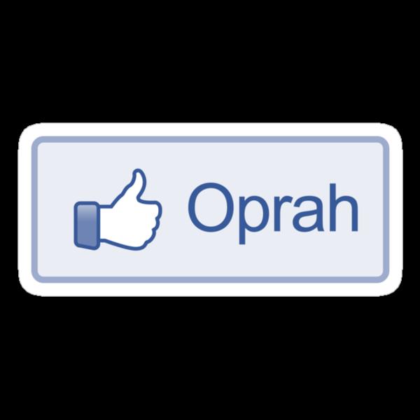 "Like Button ""Oprah"" Shirt by likebutton"