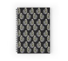 Umbreon (Betta) pattern Spiral Notebook