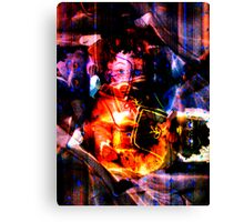 Discarded Dolls Canvas Print